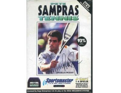 Pete Sampras Tennis m. kasse og manual (4 spiller kassette)