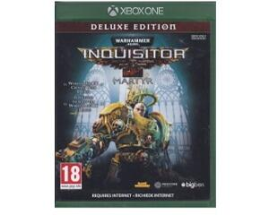 Warhammer 40000 : Inquisitor : Martyr (deluxe edition) (Xbox One)
