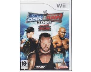 Smack Down vs Raw 2008 (Wii)