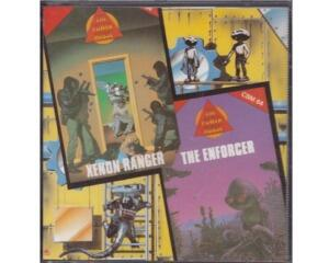 Xenon Ranger / The Enforcer (disk) (Commodore 64)