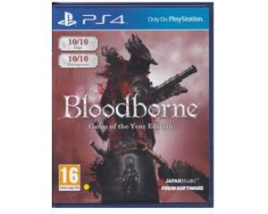 Bloodborne (game of the year edition) (PS4)