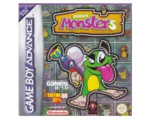 Planet Monsters m. kasse og manual (GBA)