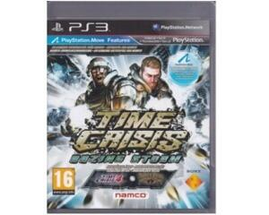 Time Crisis : Razing Storm u. manual (PS3)