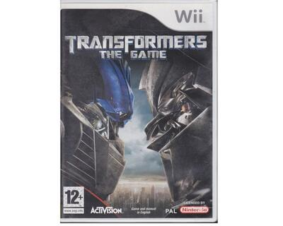 Transformers : The Game u. manual (Wii)