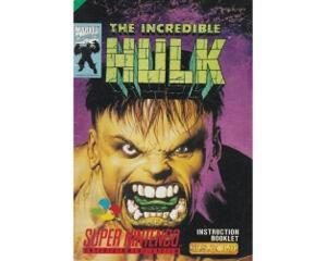 Incredible Hulk, The (ukv) (Snes manual)