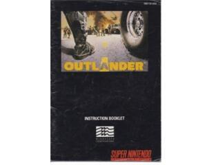 Outlander (usa) (Snes manual)