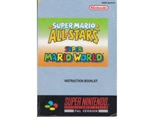 Super Mario All-Stars / Super Mario World (scn) (Snes manual)