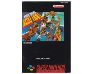 World League Basketball (noe) (Snes manual)