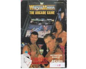Wrestle Mania : The Arcade Game (eur) (slidt) (Snes manual)