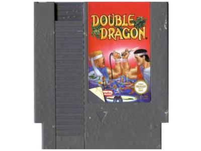 Double dragon (dårlig label) (NES)