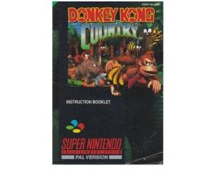 Donkey Kong Country (scn) (Snes manual)