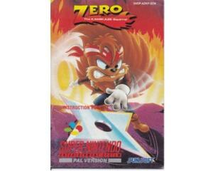 Zero : The Kamikaze Squirrel (scn) (Snes manual)