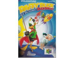 Daffy Duck als Weltraumheld Duck Dodgers (noe) (N64 manual)