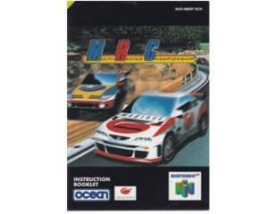 Multi Racing Championship (scn) (N64 manual)