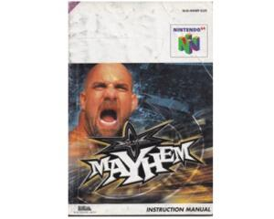 Mayhem (eur) (N64 manual)