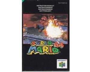 Super Mario 64 (uk) (N64 manual)