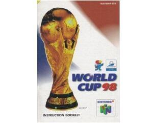 World Cup 98 (scn) (N64 manual)