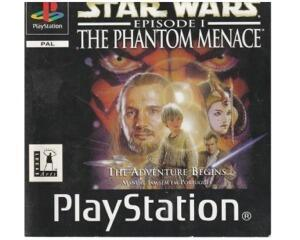 Star Wars Epi. 1 : Phantom Menace u. kasse (PS1)
