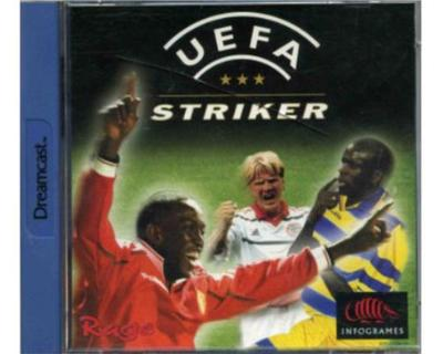 Uefa Striker m. kasse og manual