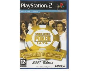World Series of Poker : Tournament of Champions 2007 (PS2)