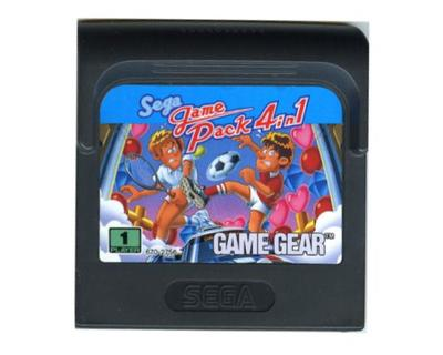 Sega Game Pack 4 in 1 (Game Gear)