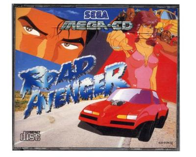 Road Avenger (Mega-CD) m. kasse og manual