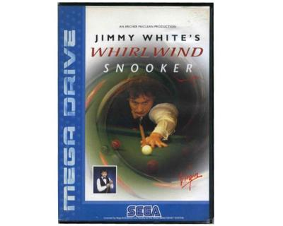 Whirlwind Snooker m. kasse og manual (SMD)