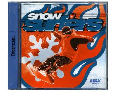 Snow Surfers m. kasse og manual