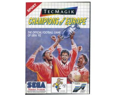 Champions of Europe m. kasse og manual (SMS)
