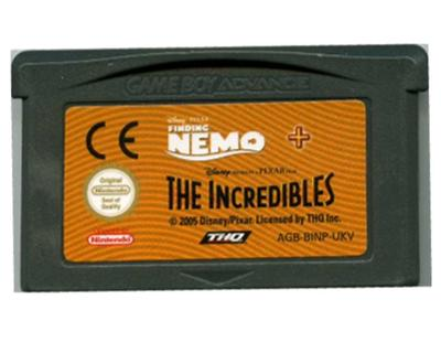 Finding Nemo / The Incredibles (GBA)