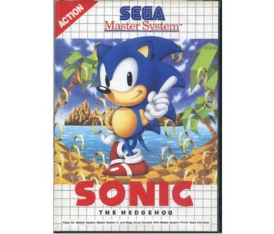 Sonic the Hedgehog m. kasse (SMS)
