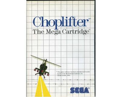 Choplifter m. kasse og manual (SMS)