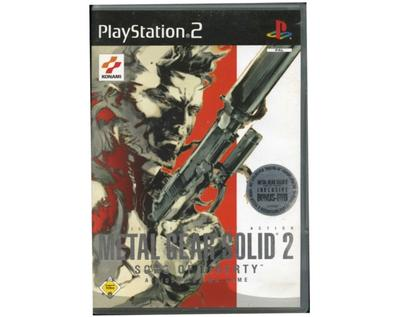 Metal Gear Solid 2 : Sons of Liberty (incl bonus dvd) (PS2)