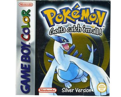Pokemon Silver (GBC) m. kasse og manual