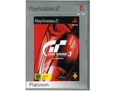 Gran Turismo 3 (Platinum) (PS2)
