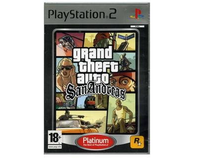 Grand Theft Auto : San Andreas (platinum)