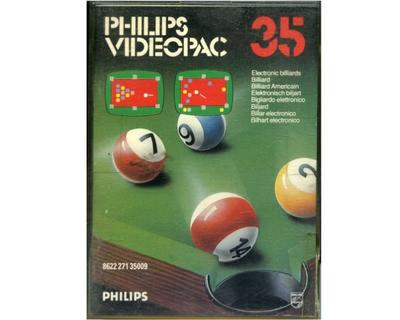 #35 Electronic Billiards m. kasse og manual
