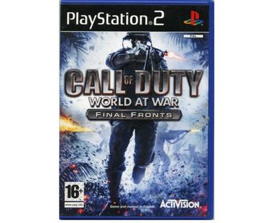 Call of Duty : World at War : Final Fronts (PS2)