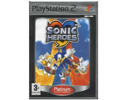 Sonic Heroes (platinum) (PS2)