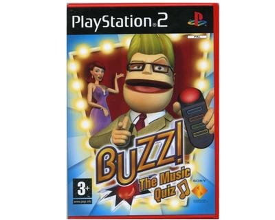Buzz! The Music Quiz (dansk) (PS2)