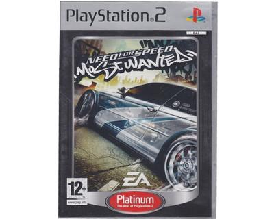 Need for Speed : Most Wanted (platinum) (PS2)