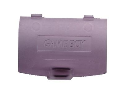 Game Boy Color Batteri Cover (klar violet) (ny) (uorig)