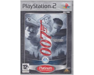 James Bond 007 : Everything or Nothing (platinum) (PS2)