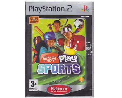 Eye Toy Play Sports (platinum) u. manual (PS2)