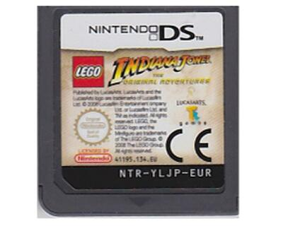 Lego Indiana Jones : The Original Adventure (dansk) u. kasse og manual (Nintendo DS)