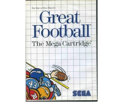 Great Football m. kasse og manual (SMS)