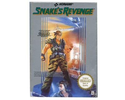 Snake's Revenge (Metal gear II) (scn) m. kasse (slidt) og manual