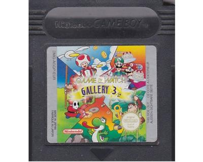 Game & Watch : Gallery 3 (GBC)