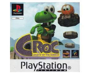 Croc : Legend of the Gobbos u. kasse (platinum) (PS1)