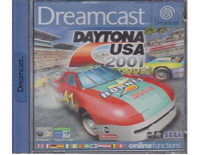 Daytona USA 2001 m. kasse og manual (Dreamcast)